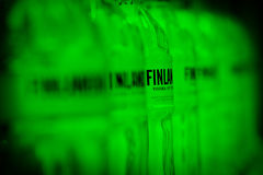 Finlandia vodka brand Royalty Free Stock Images
