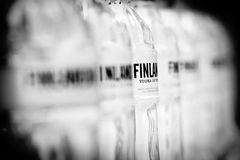 Finlandia vodka brand Stock Photo