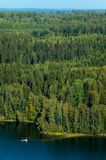 finlandssvensk liggandenational Arkivbilder