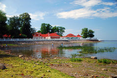 finlandssvenska golfpetrodvorets blir grund Arkivbilder