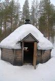 Finlandssvenska Kota i etttäckt landskap Arkivfoto