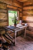 Finley Cabin, parque nacional de Cumberland Gap foto de stock royalty free