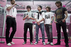 Finley rock band in Levico. The italian band Finley in Levico Terme (Giro d'Italia 2010 Stock Photo