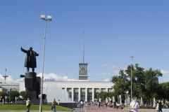 Finlyandskiy railway station Royalty Free Stock Image