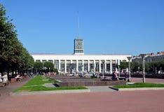 Finlyandsky Railway station Stock Photos