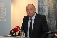 FINN BORCH ANDERSEN_ JOINT PRESS CONFERENCE Stock Photos