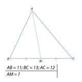 Finna det median- av triangelabc:et Fotografering för Bildbyråer