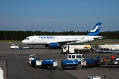 Finnair A320 Stock Photography