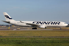 Finnair Airbus A330 Fotos de Stock Royalty Free