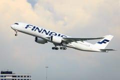 Finnair Airbus A350 Imagens de Stock