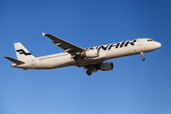Finnair Airbus A321 Stockfotos