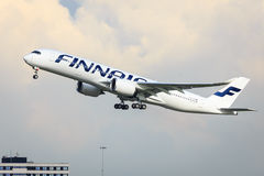 Finnair Airbus A350 Stock Images