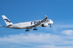 Finnair Airbus A350-900 Royalty Free Stock Photo