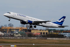 Finnair Embraer 170 Royalty Free Stock Image