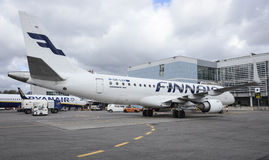 Finnair Royalty Free Stock Photos