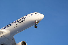 Finnair new Airbus A350-900 Stock Image