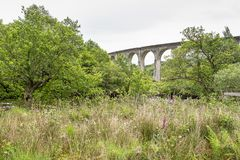 Finnan Viaduct Royalty Free Stock Photography