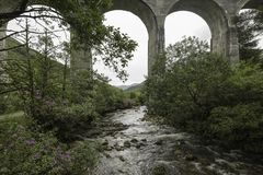 Finnan Viaduct Stock Photo