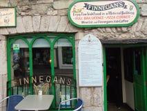 Finnegans kafé i Galway Fotografering för Bildbyråer