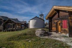 Finnen, Wallis, Schweizer Stockfoto