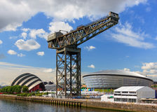 The Finnieston Crane Stock Image