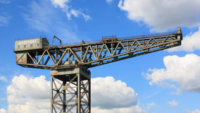 The Finnieston Crane Royalty Free Stock Images