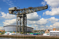 The Finnieston Crane Royalty Free Stock Photo