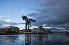 Finnieston Crane Glasgow Foto de archivo libre de regalías