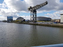 Finnieston crane Glasgow icon Royalty Free Stock Photos