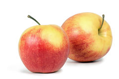 finniga äpplen Arkivfoton