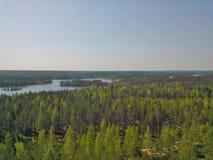 Finnische Ansicht stockfoto