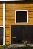 Finnische hölzerne Architektur Lizenzfreie Stockfotografie