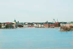 Finnische Hauptstadt lizenzfreie stockbilder