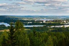Finnische Landschaft Lizenzfreies Stockfoto