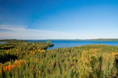 Finnische Landschaft Stockfotografie