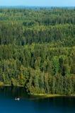 Finnische nationale Landschaft Stockbilder