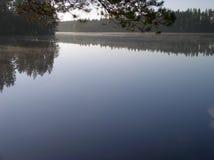 Finnischer See Lizenzfreie Stockfotos