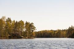 Finnischer See Stockbilder