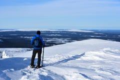 Finnisches Lappland lizenzfreies stockfoto