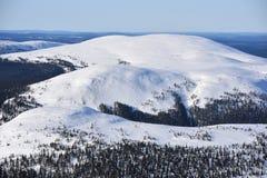 Finnisches Lappland lizenzfreie stockfotos