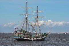 Finnisches Meerbusen Quay Lizenzfreie Stockfotografie