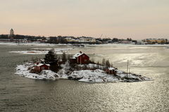Finnish Archipelago, Helsinki Royalty Free Stock Photos