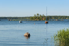 Finnish archipelago Stock Photos