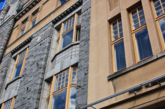 Finnish architecture Royalty Free Stock Photos