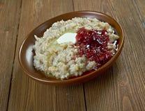Finnish barley porridge Royalty Free Stock Image