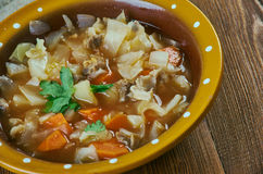 Finnish cabbage soup Royalty Free Stock Image