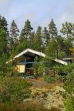 Finland/Saimaa: Modern Cabin Stock Images