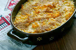 Finnish carrot casserole Stock Photo