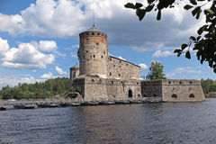 Finnish castle Royalty Free Stock Photo