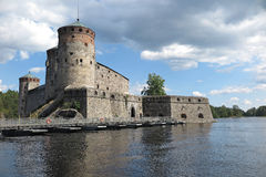 Finnish castle Stock Photography